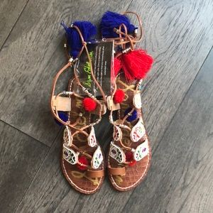⭐️HP⭐️Sam Edelman Gem Gladiator Woman's Sandal